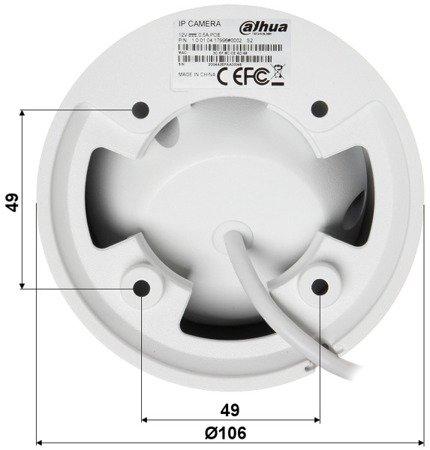 KAMERA IP DH-IPC-HDW4631EMP-A SE-0360B - 6.3Mpx 3.6mm DAHUA