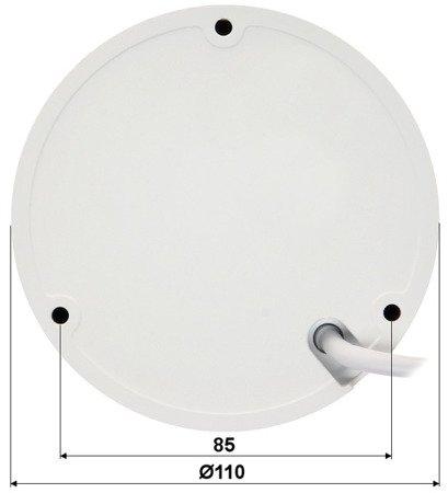 KAMERA WANDALOODPORNA IP DH-IPC-HDBW1531EP-S -0280B - 5.0Mpx 2.8mm DAHUA