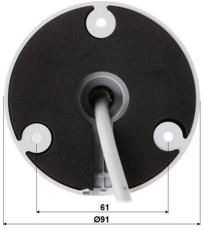 KAMERA WANDALOODPORNA IP DH-IPC-HFW4239TP-ASE -NI-0360B - 1080p 3.6mm DAHUA