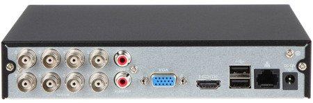 REJESTRATOR AHD, HD-CVI, HD-TVI, CVBS, TCP/IP DH-XVR1A08 8 KANAŁÓW DAHUA